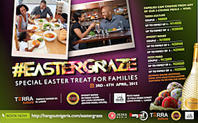 #EasterGraze: an Easter meal promo for a group of restaurants