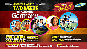 Teeky Fan Club Summer Camp