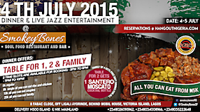 SmokeyBones Restaurant 4th July Celebrations
