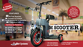 OzNet M Scooter Launch