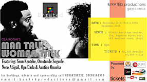 Ola Rotimi's Man Talk Woman Talk At Ethnic Heritage Centre