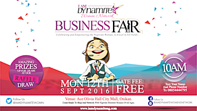 Dynamite Business Fair Campaign