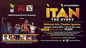 Thespian Family Theatre ITAN Campaign
