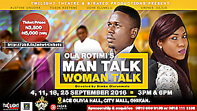 Man Talk Woman Talk @Twilight Theatre Campaign