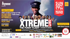 Xtreme Live: The Funny Flight@MUSON
